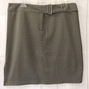 Express Mini Chevron Skirt - Size 13/14